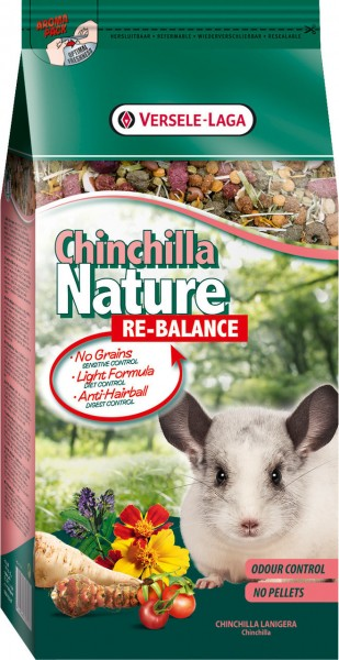 Nature Chinchilla Re-Balance 700g Kleintierfutter