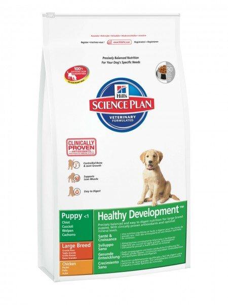 Hill's SP Canine Puppy Large Breed Healthy Development Huhn 11kg Hundetrockenfutter