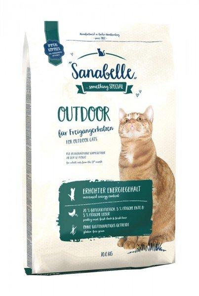 Sanabelle Outdoor Ente Katzentrockenfutter