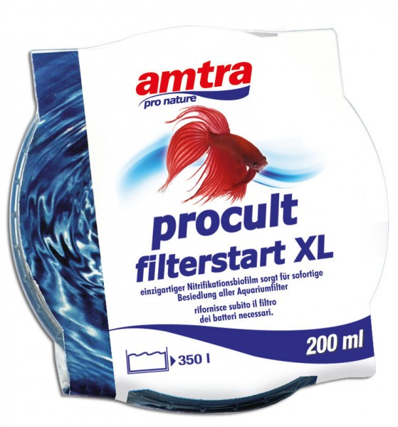 amtra procult Filterstart XL Filterbakterien