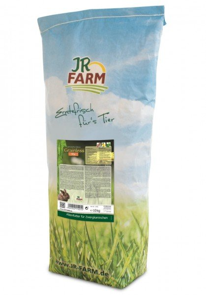 JR FARM Nager Grainless Mix Zwergkaninchen 10kg Kleintierfutter