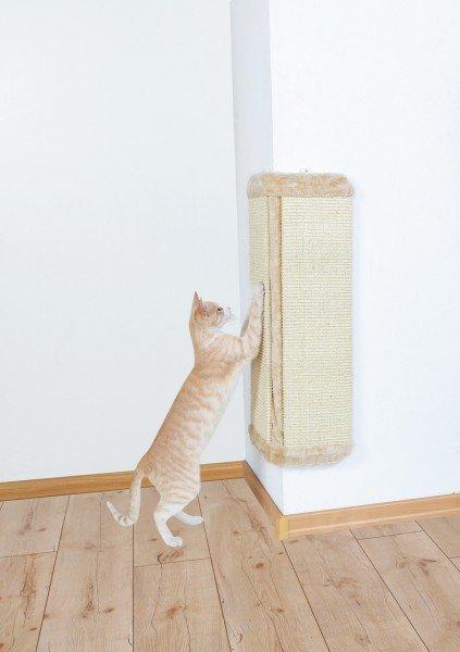 TRIXIE Kratzbrett für Zimmerecken 40 x 75cm natur/beige