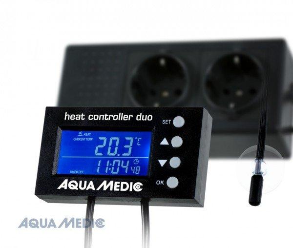 AQUA MEDIC heat controller duo Temperatur Mess- und Regelgerät