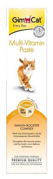 GimCat Multi-Vitamin Paste 200g Nahrungsergänzung für Katzen