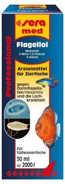 sera med Professional Flagellol 50 ml Medikament für Zierfische