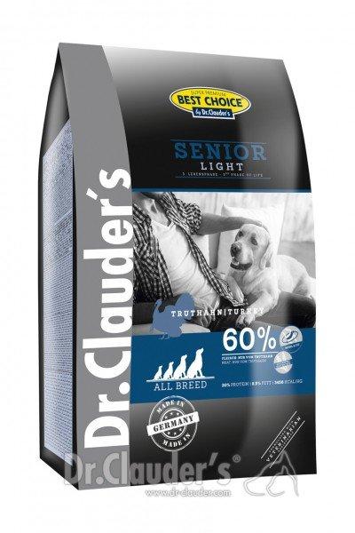 Dr. Clauder's Best Choice Lifecycle Senior Light All Breed Hundetrockenfutter