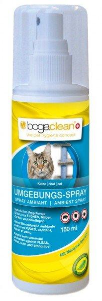 bogaclean UMGEBUNGS-SPRAY 150ml Ungezieferbekämpfung für Katzen