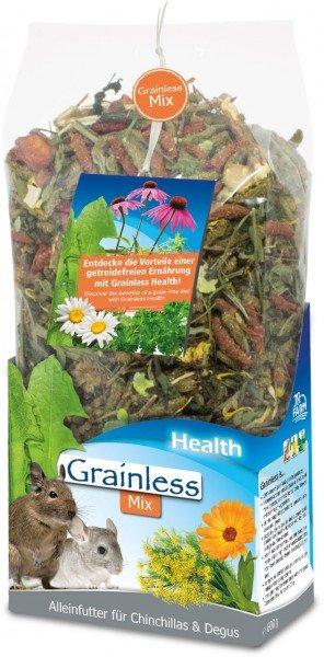 JR FARM Grainless Health Mix Chinchilla & Degu 600g Kleintierfutter