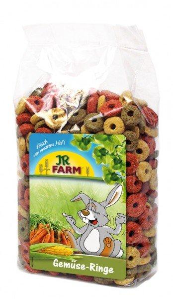 JR FARM Gemüse-Ringe 200g Kleintiersnack
