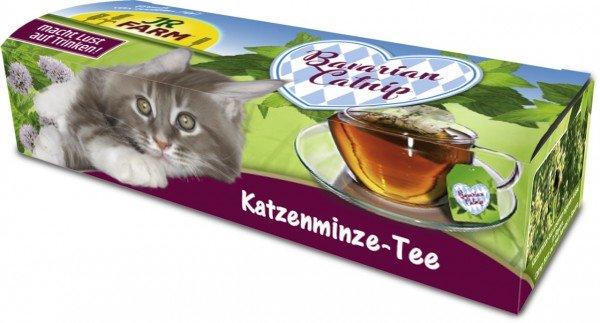 JR FARM Bavarian Catnip Katzenminze-Tee 12g Nahrungsergänzung für Katzen