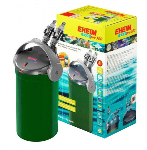 EHEIM 2036 ecco pro 300 Außenfilter mit Filtermasse