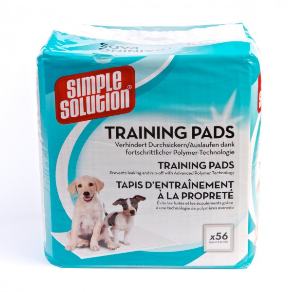 Simple Solution Puppy Pads 54 x 57 cm (56 Stück)
