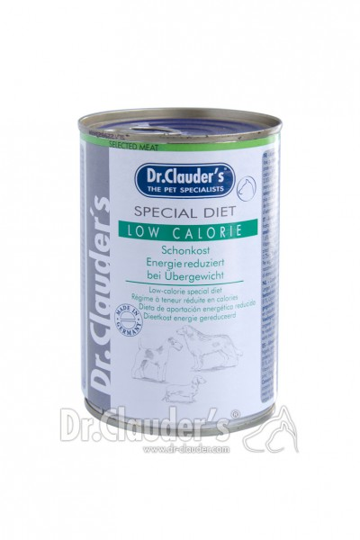 Dr. Clauder's Special Diet Low Calorie 400g Dosen Hundenassfutter