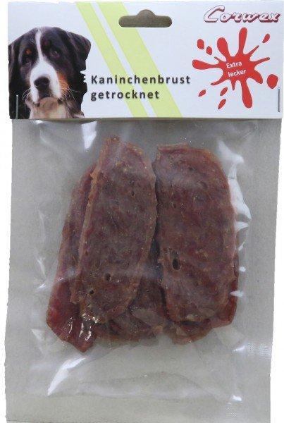 Corwex Kaninchenbrust getrocknet 70g Hundesnack