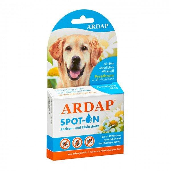 ARDAP Spot-on gegen Ungeziefer 3 x 4 ml für Hunde über 25 Kilogramm