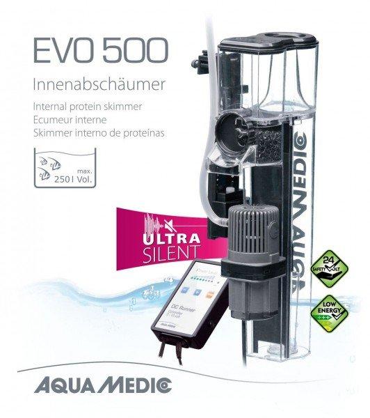 AQUA MEDIC EVO 500 Innenabschäumer für Meerwasseraquarien