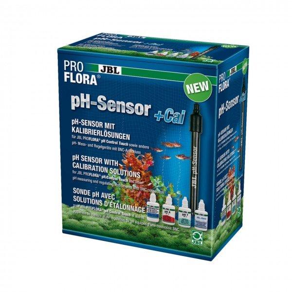 JBL ProFlora pH-Sensor+Cal pH-Elektrode mit Kalibrierlösungen