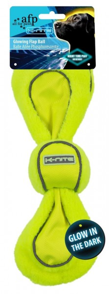 all for paws (afp) K-Nite Glowing Flap Ball Hundespielzeug