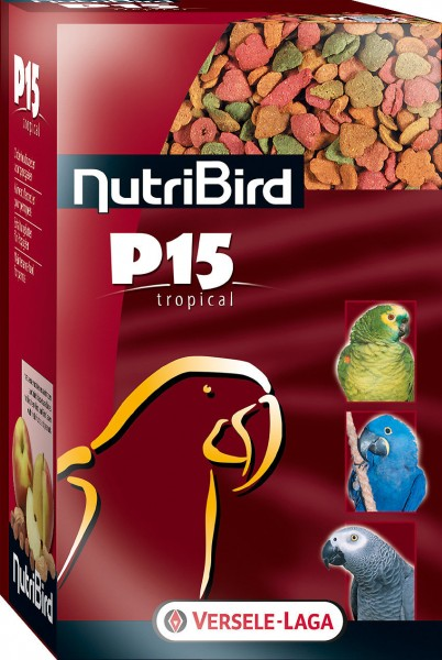 VERSELE-LAGA NutriBird P15 Tropical 1kg Papageienfutter