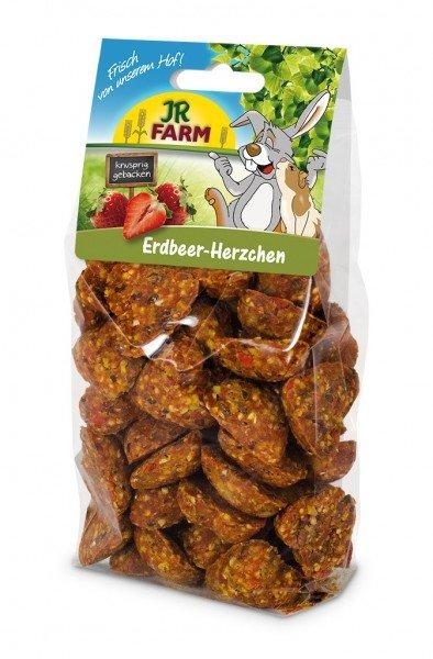 JR FARM Erdbeer-Herzchen 150g Kleintiersnack