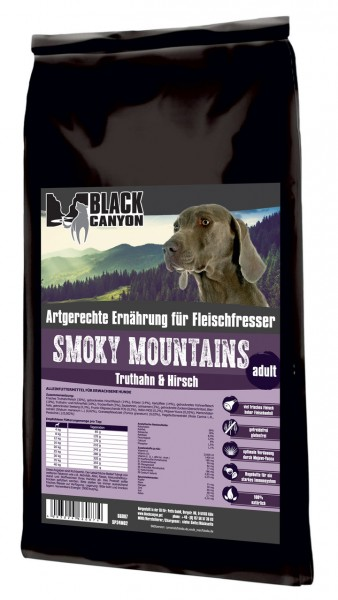 Black Canyon Adult Smoky Mountains Truthahn & Hirsch Hundetrockenfutter