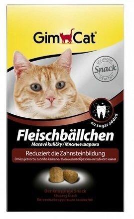 GimCat Fleischbällchen 100g Katzensnack