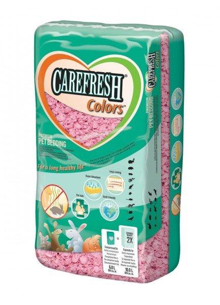 CAREFRESH Colors Pink 10l Einstreu