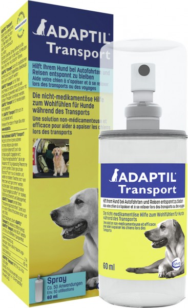 ADAPTIL Transportspray 60ml zur Beruhigung / Anti-Stress