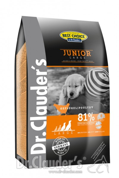 Dr. Clauder's Best Choice Lifecycle Junior Large Breed Hundetrockenfutter