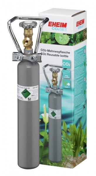 EHEIM CO2 Flasche 500g Mehrweg mit Flaschenhalter