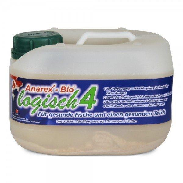 Koi Discount Anarex-Bio logisch 4 2,5l Teichpflege