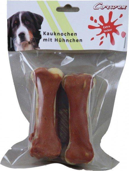 Corwex Kauknochen mit Hühnchen 10cm Hundesnack