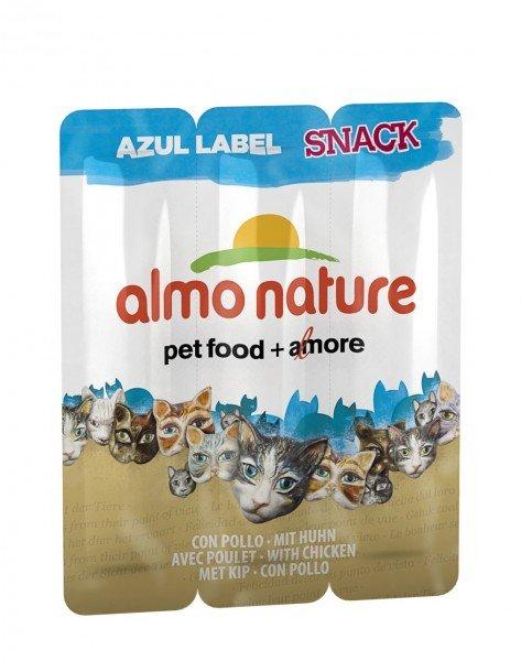 Almo Nature Azul Label Huhn 3x5g Katzensnack
