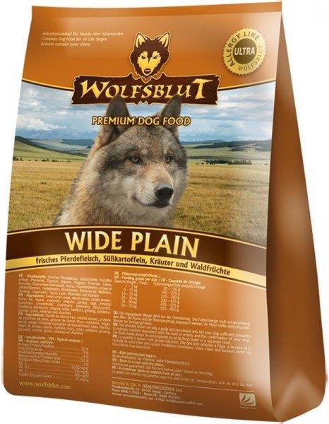 WOLFSBLUT Wide Plain mit Pferdefleisch & Süßkartoffel Hundetrockenfutter