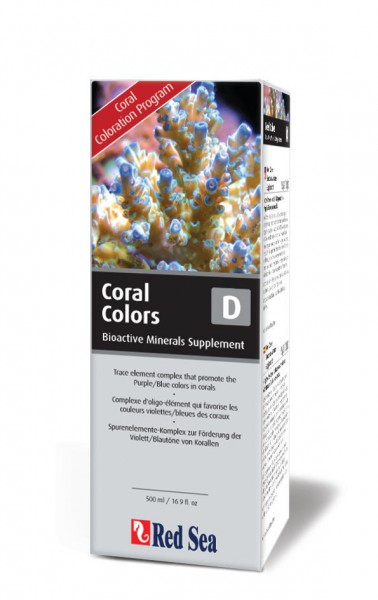 Red Sea Coral Colors D (Mineralkomplex) 500 ml