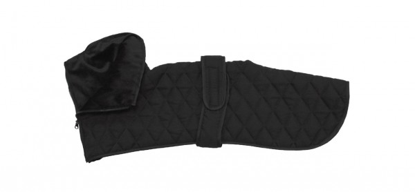 CROCI Daily Reloaded Jacke Greyhound Black Hundebekleidung