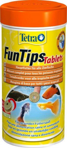 Tetra FunTips Tablets 300 Tabletten Fischfutter