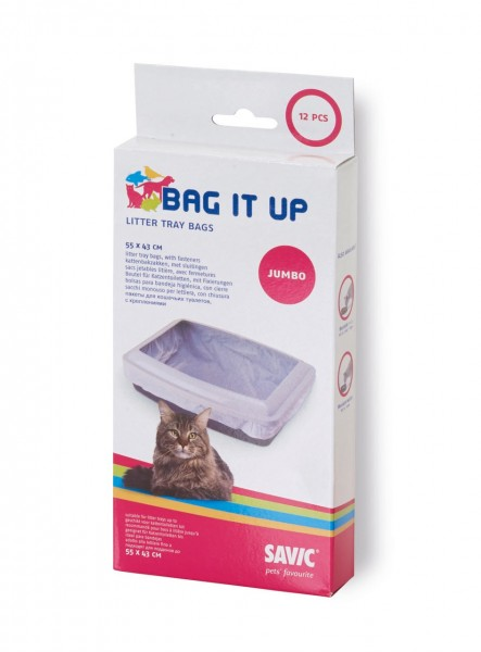 SAVIC Katzentoiletteneinlage Bag it up Maxi/Jumbo