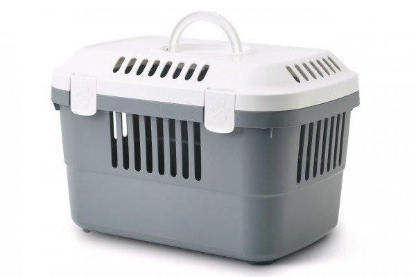 SAVIC Transportbox Discovery 1 grau/weiß