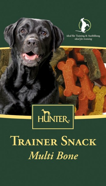 HUNTER Trainer-Snack Multi Bone 200g Hundesnack