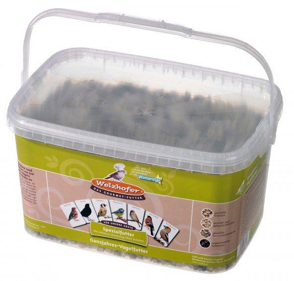 Welzhofer Spezialfutter 3kg Eimer für Wildvögel