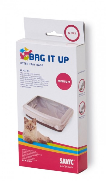 SAVIC Katzentoiletteneinlage Bag it up Medium