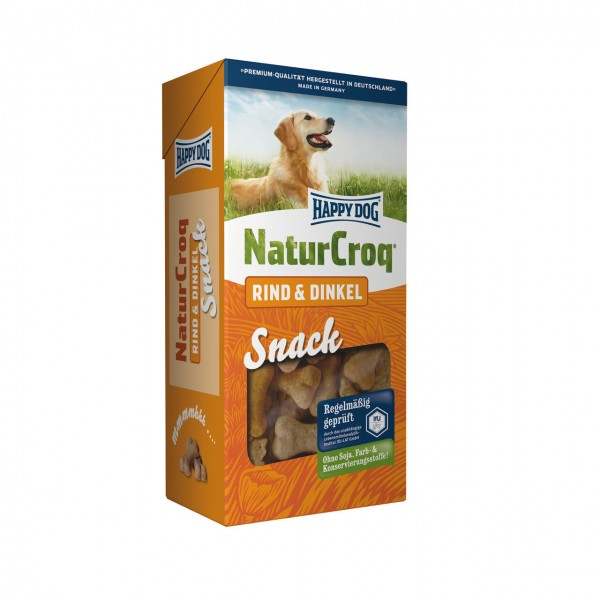 HAPPY DOG Natur Snack Rind & Dinkel 350g Hundesnack