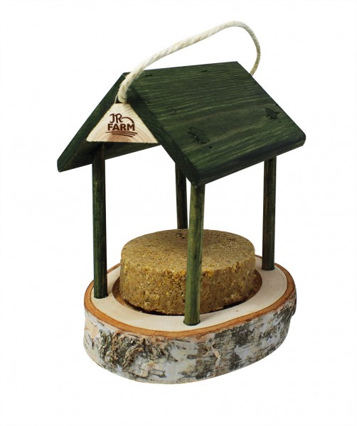 JR FARM Peanut Ring Erdnuss-Häuschen für Wildvögel inklusive Nachfüller