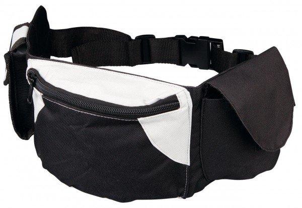 TRIXIE Hüfttasche Baggy-Belt 62 - 125 cm schwarz/grau