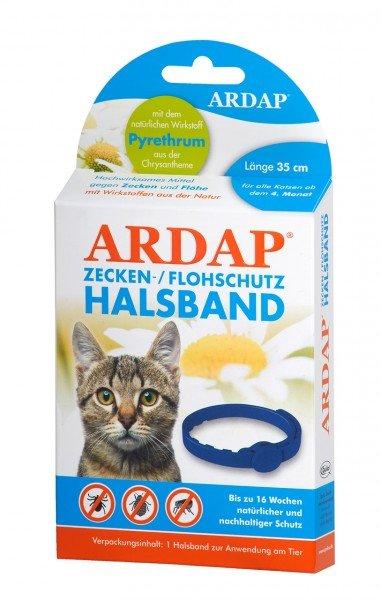 ARDAP Zecken-/ Flohhalsband für Katzen Ungezieferbekämpfung