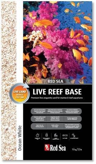 Red Sea RS Ocean White Live Aragonite Sand 10kg Aquariensand
