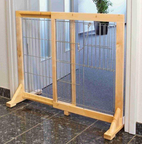 TRIXIE Hunde-Absperrgitter 61-103x75cm