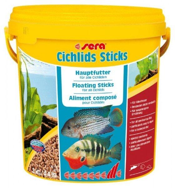 sera Cichlids Sticks 2kg / 4,4 lb Hauptfutter für alle Cichliden