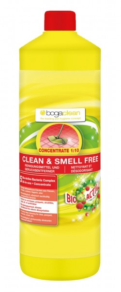 bogaclean CLEAN & SMELL Free Concentrate 1000ml Reinigungskonzentrat